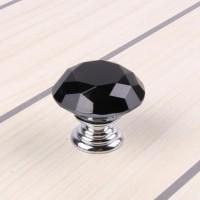黑色水晶钻石拉手锌合金拉手