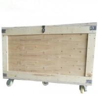 卡扣折叠万向轮木质包装箱