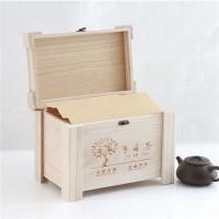 原木定制茶叶盒