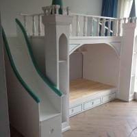 求购实木儿童高低床
