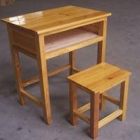 求购家里用的实木学生课桌