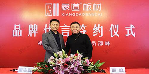 象道板材再度携手著名演员邵峰 塑造品牌新高度