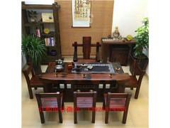 老船木茶桌功夫泡茶桌艺术茶桌办公室茶台
