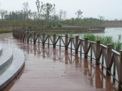 沈阳塑木廊架 塑木围栏 沈阳塑木厂家