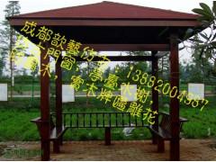 实木栏杆 景观防腐木栏杆