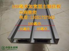 160毫米宽度加宽主轴背板雕刻机主轴电机挂板