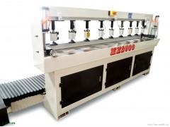 全自动实木拼板机 MX2500B修边 佛山力威源优质木工机械  开槽