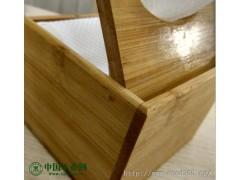 汉唐木艺 竹木实木抽纸盒定做加工