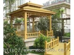 【沈阳嘉禾木屋公司】防腐木工程、木制景观、户外木制品