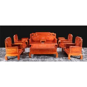 陕西哪里可以买到正宗的红木家具客厅沙发