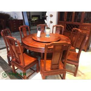 东阳家具市场缅花圆台,餐桌,沙发,大床