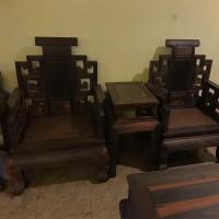销售大红酸枝老料山水宝座沙发家具