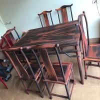 供应大红酸枝长方桌家具