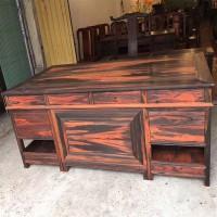 供应大红酸枝办公桌家具