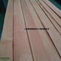 厂家直供樱桃直纹木皮  贴密度板木饰面板