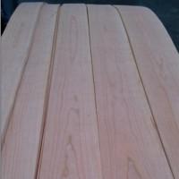 厂家直供樱桃山纹木皮饰面板 室内家具装饰木质贴皮