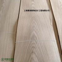 厂家直供白橡山纹贴密度板木饰面板  室内家具装饰木质贴皮
