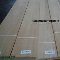 厂家直供红橡直纹贴密度板木饰面板  室内家具装饰木质贴皮