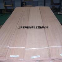 厂家直供红橡山纹贴密度板木饰面板  室内家具装饰木质贴皮
