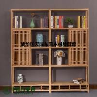 成都仿古定制家具-新中式实木古典家具厂 禅意茶楼书吧家具