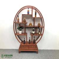 成都仿古民宿家具厂 成都榆木客栈古典定制 高端红木中式餐桌椅