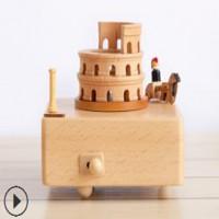 供应木质音乐盒工艺品