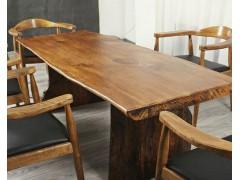求购实木整板大桌