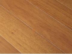 厂家直销桃花芯(柚木色)实木地板
