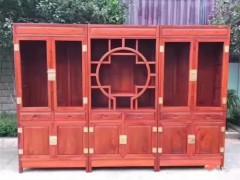 出售缅甸花梨木、老挝大红酸枝高中低档红木家具