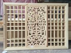 出售仿古门窗、木斗拱,纯木结构