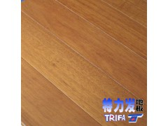 供应印尼桃花芯实木地板特力发地板直销桃花芯心木
