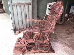 供应大红酸枝摇椅