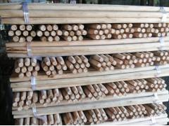 大量供应桉木圆棒