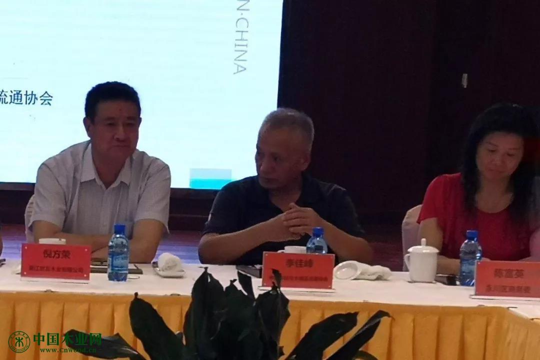 中国木材与木制品流通协会副会长兼秘书长李佳峰