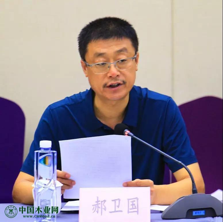 易县县委常委、宣传部长、县委办主任郝卫国代表易县政府致欢迎辞