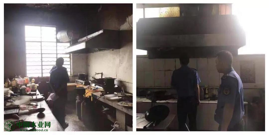 检查餐饮行业油烟净化器使用安装情况,督促清理建立台账