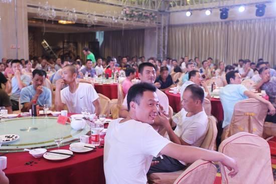 大王椰山东禹城合作伙伴会议现场