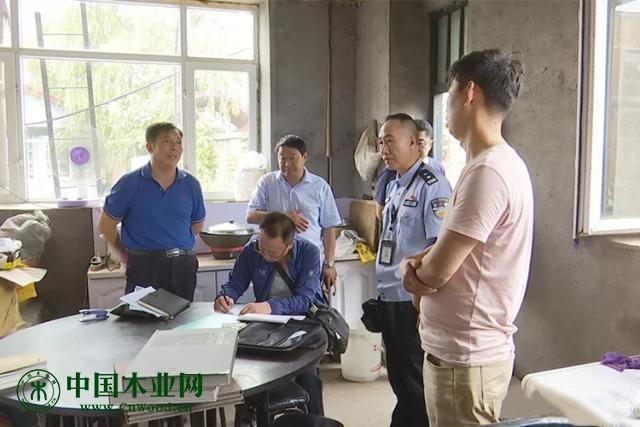 黑龙江北林区开展木材加工企业消防安全专项整治行动