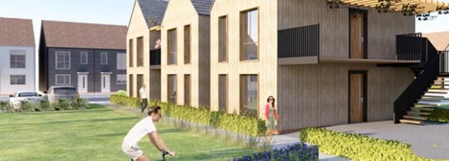 以木结构建筑为基础,英国率先规模化建造无塑料房屋