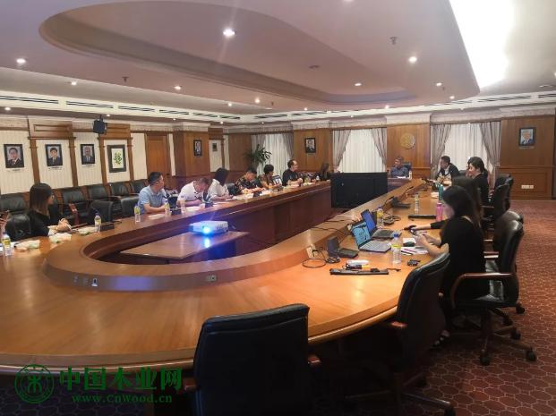 山东省家具商务考察团一行拜会了马来西亚家具总会