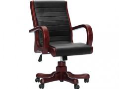 供应实木转椅班椅 YZ0209B0 紫檀色