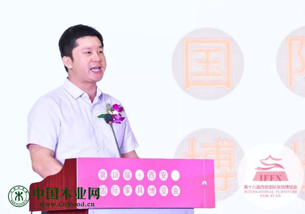 赣州市南康区家具产业促进局刘涛副局长