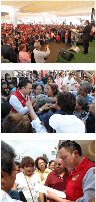 墨西哥尤卡坦州普罗格雷索海关关长卡尔德隆及其在多个社交场所的活动