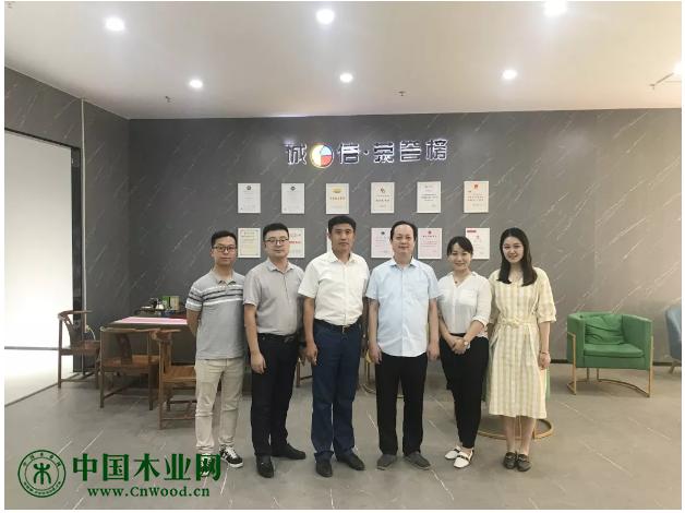 山东省家具协会赴菏泽家具企业考察