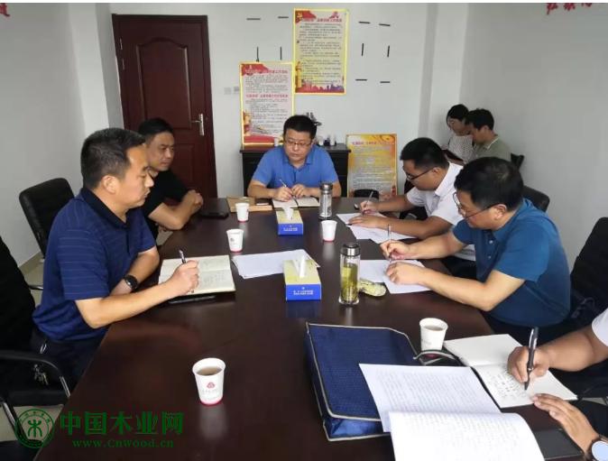 菏泽市应急管理局调研员王金玉一行到曹县督导调研