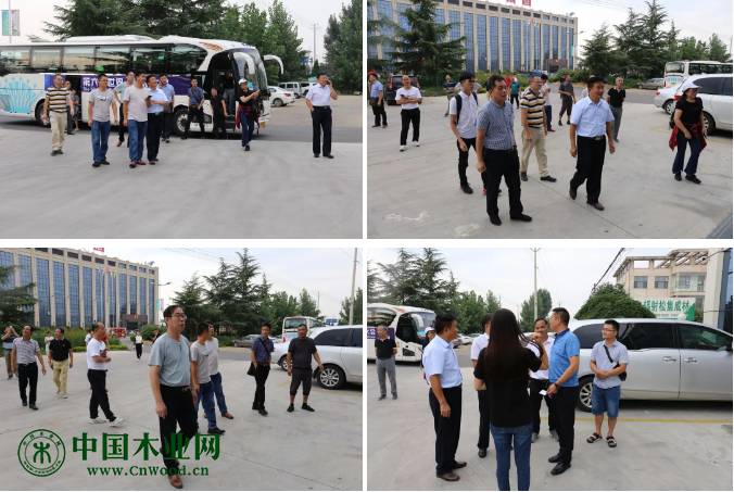 广西林业产业行业协会代表团