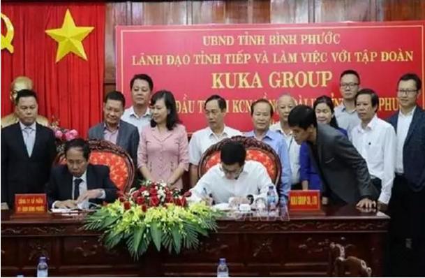 顾家投资5000万美元,在越南建造家具制造厂
