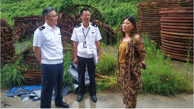 浙江省市区林业通信电力部门联合开展检疫执法专项行动