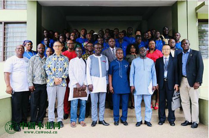 2019年加纳竹藤制品开发技术海外培训班开班