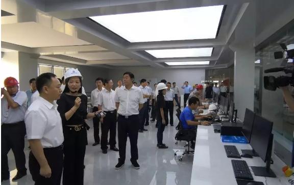 安徽省长李国英两周内2次莅临安徽万华产业园
